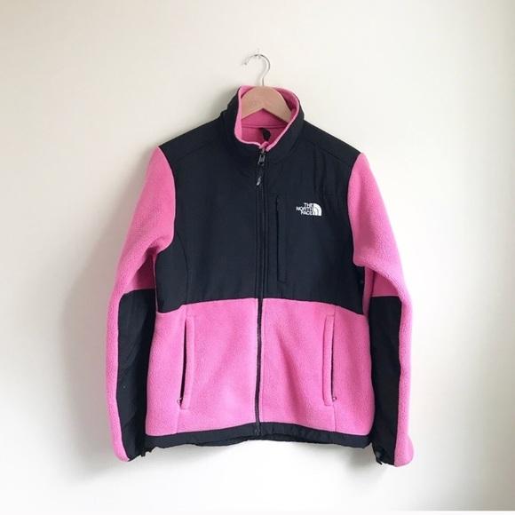 97316b5aed8d North Face Denali Black Pink Fleece Jacket M. M 5b80acd825457a8df8a20f89